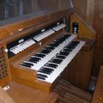 Old console, St Joseph's
